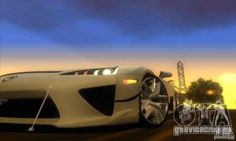 ENB Graphics by KINOman для GTA San Andreas