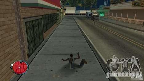 GTA IV HUD для широких экранов (16:9) для GTA San Andreas второй скриншот