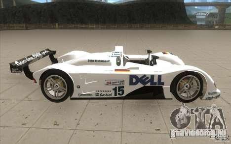 BMW V12 LeMans - Stock для GTA San Andreas вид изнутри