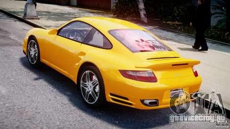 Porsche 911 Turbo V3.5 для GTA 4 вид сзади слева