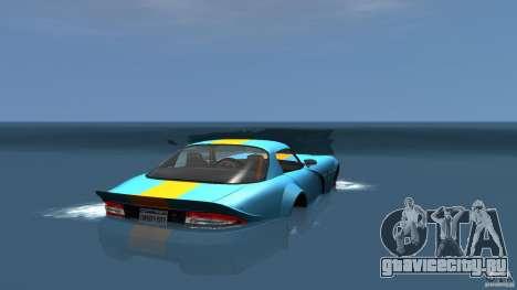 Banshee Boat для GTA 4 вид сзади слева