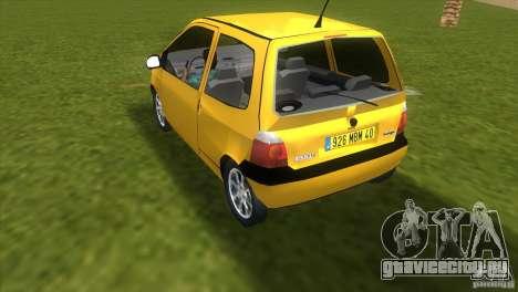 Renault Twingo для GTA Vice City вид слева