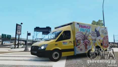 Mercedes-Benz Family Frost для GTA 4 вид слева