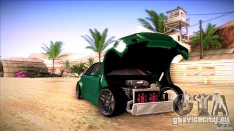 BMW E46 Drift II для GTA San Andreas вид сзади слева