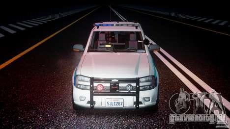 Chevrolet Trailblazer Police V1.5PD [ELS] для GTA 4 вид снизу