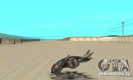 Москит для GTA San Andreas вид слева
