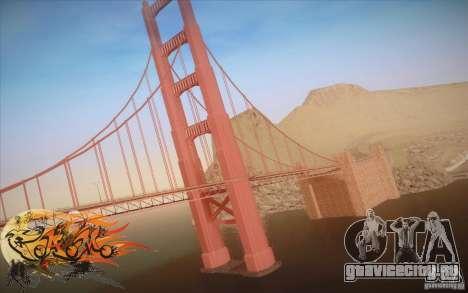 New Golden Gate bridge SF v1.0 для GTA San Andreas второй скриншот
