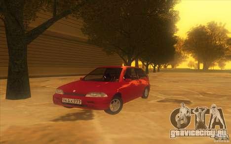 Suzuki Swift GLX 1.3 для GTA San Andreas