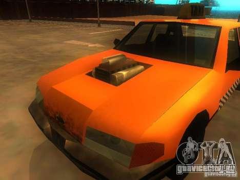 Crazy Taxi для GTA San Andreas вид сзади