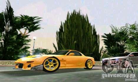 Mazda RX7 RE-Amemiya для GTA Vice City вид слева