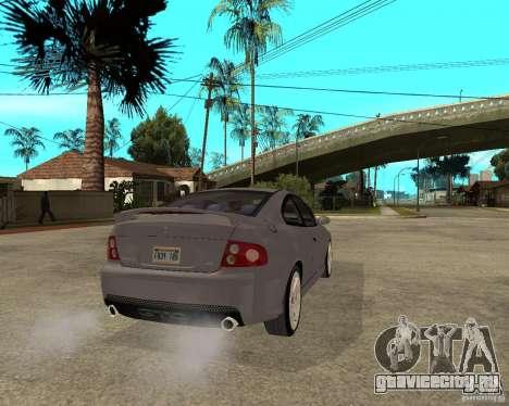 2005 Pontiac GTO для GTA San Andreas вид сзади слева
