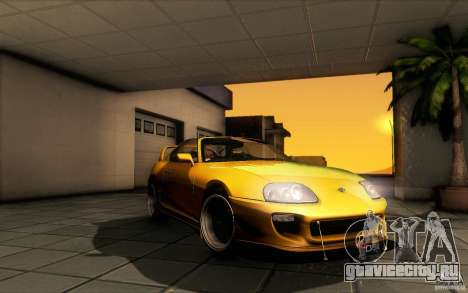Toyota Supra D1 1998 для GTA San Andreas вид сбоку