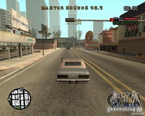 New Fonts для GTA San Andreas третий скриншот