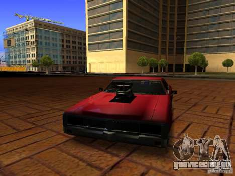Charger Sabre для GTA San Andreas вид справа