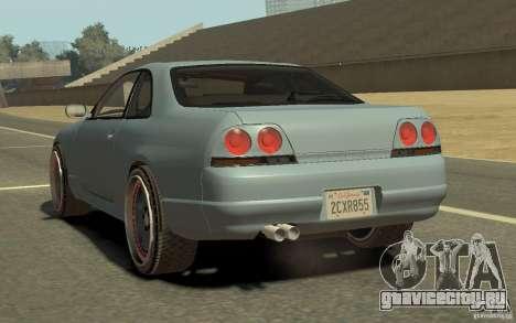 Nissan Skyline GT-R V-Spec 1997 для GTA 4 вид слева