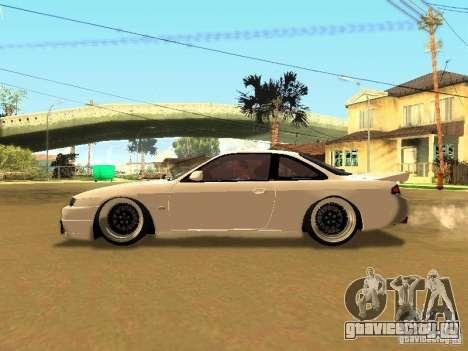 Nissan 200SX JDM для GTA San Andreas вид изнутри