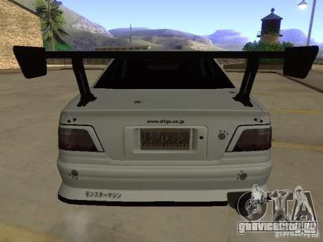Toyota Chaser JZX100 Tuning by TCW для GTA San Andreas вид снизу