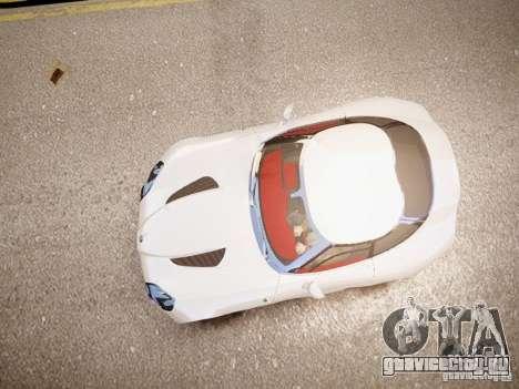 Alfa Romeo TZ3 Stradale Zagato для GTA 4 вид сзади