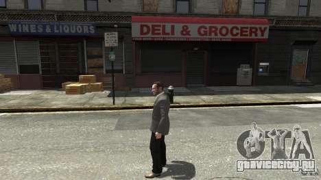 Чёрные джинсы для GTA 4 второй скриншот