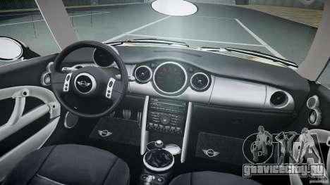 Mini Cooper S для GTA 4 вид сверху