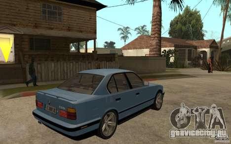 BMW E34 535i 1994 для GTA San Andreas вид справа