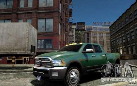 Dodge Ram 3500 Stock Final для GTA 4 вид слева