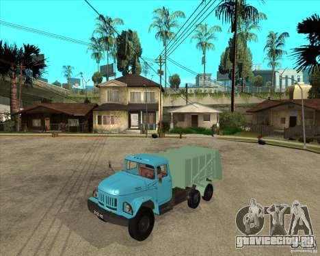 ЗИЛ 131 мусоровоз для GTA San Andreas