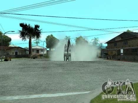 Полёт в космос для GTA San Andreas второй скриншот
