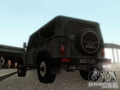 УАЗ-3153 для GTA San Andreas вид сзади слева