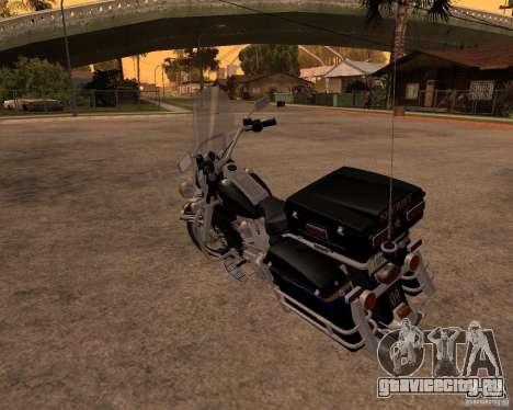 Harley Davidson Police 1997 для GTA San Andreas вид справа