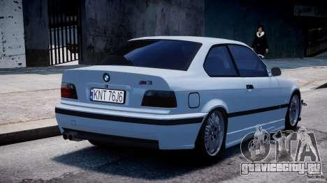 BMW M3 e36 для GTA 4 вид сверху