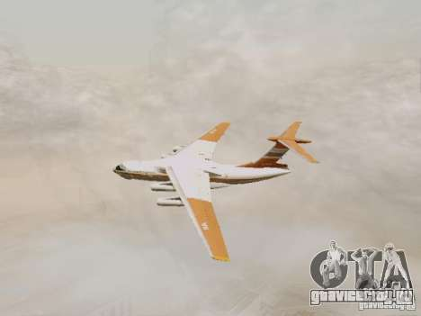 ИЛ-76ТД для GTA San Andreas вид сзади