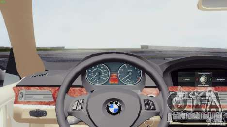 BMW 330i e90 для GTA San Andreas вид сзади слева