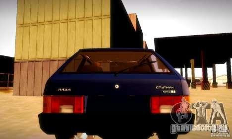 ВАЗ 2108 v2.0 для GTA San Andreas вид слева