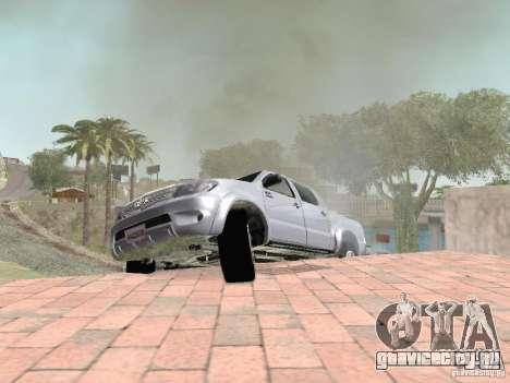 Toyota Hilux для GTA San Andreas вид сверху