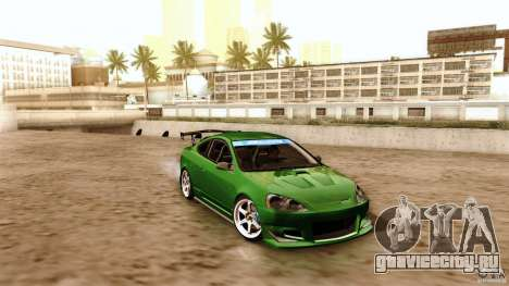 Acura RSX Spoon Sports для GTA San Andreas вид сверху