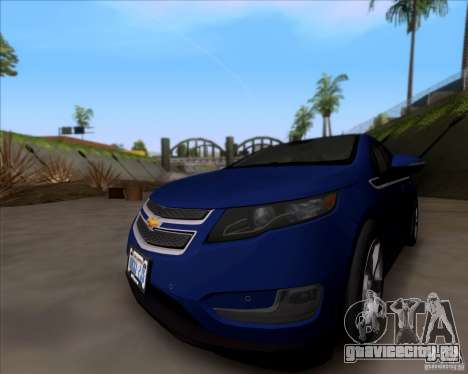Chevrolet Volt 2012 Stock для GTA San Andreas вид слева