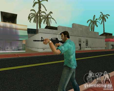 M4A1 для GTA Vice City четвёртый скриншот