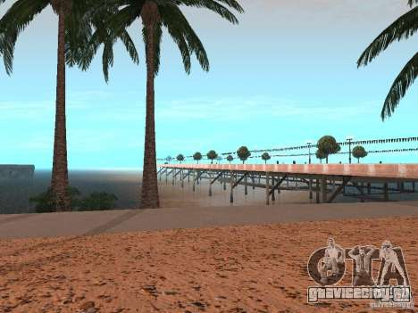 HQ Пляж v1.0 для GTA San Andreas третий скриншот