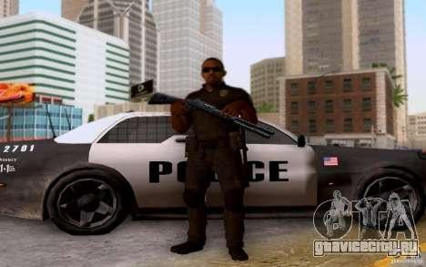 Полицейский из CoD: BO2 для GTA San Andreas