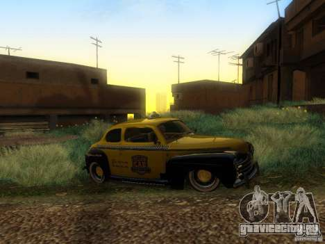 Ford Coupe 1946 Mild Custom для GTA San Andreas вид изнутри