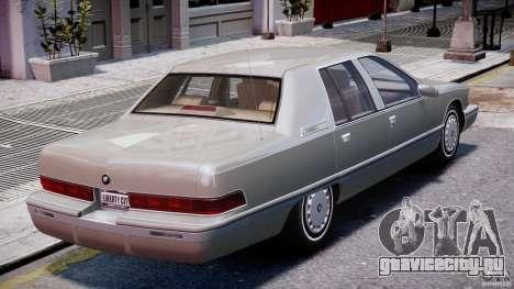 Buick Roadmaster Sedan 1996 v 2.0 для GTA 4 двигатель