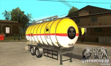 Trailer Tunk для GTA San Andreas вид сзади