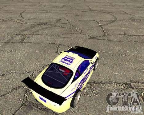 Mitsubishi Eclipse street tuning для GTA San Andreas вид сзади слева
