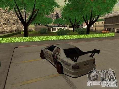 Toyota Chaser JZX100 Tuning by TCW для GTA San Andreas вид слева