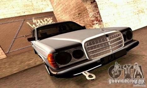 Mercedes Benz W123 для GTA San Andreas вид сбоку