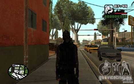 Blackwatch из Prototype для GTA San Andreas второй скриншот