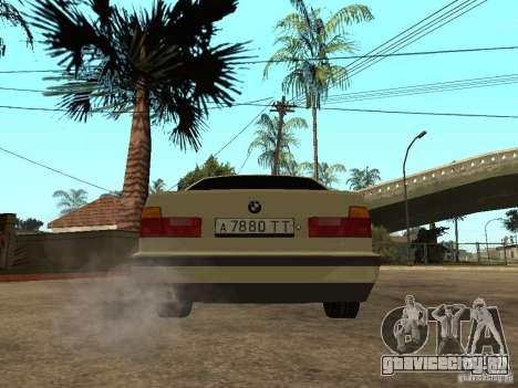 BMW 520i для GTA San Andreas вид сзади слева