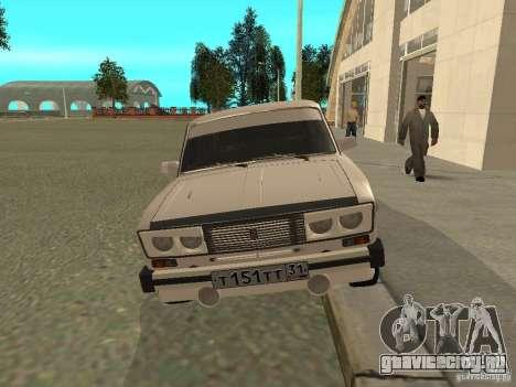 ВАЗ 2106 West Style для GTA San Andreas вид слева