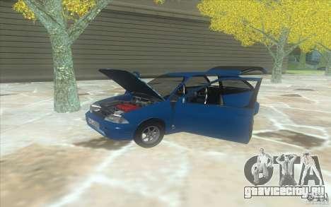 Suzuki Swift GLX 1.3 для GTA San Andreas вид справа
